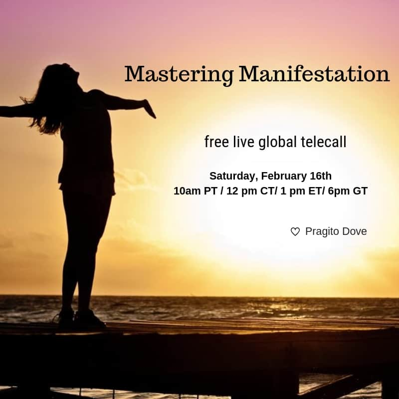 mastering manifestation ad on social media promoting a consultation